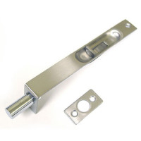 Flush Bolt (Push type), Stain Stainless Steel Finish, 200 X 25 mm